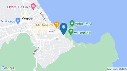 Ozkaymak Marina Hotel - All Inclusive Map