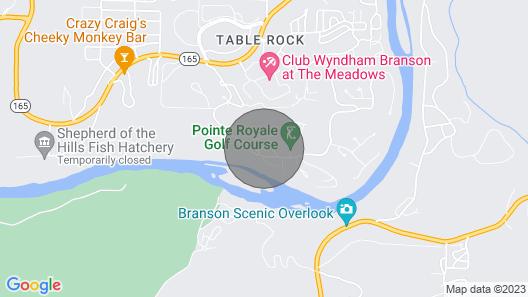 Branson Pointe Royale 3 Bedroom Condo Map