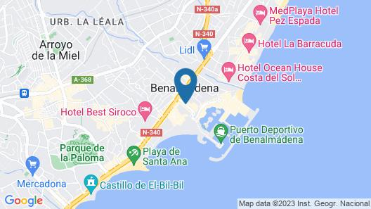 APARTAMENTOS MS PEPITA Map