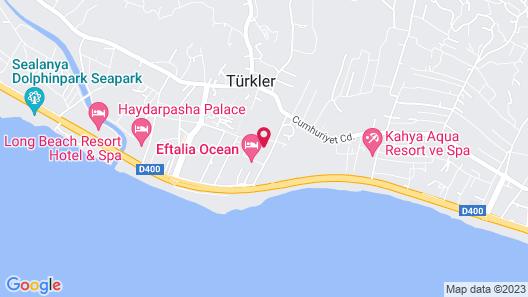 Alan Xafira Deluxe Resort Map