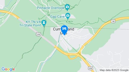 Cumberland Gap Inn Map