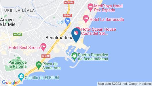 Mac Puerto Marina Benalmadena Map