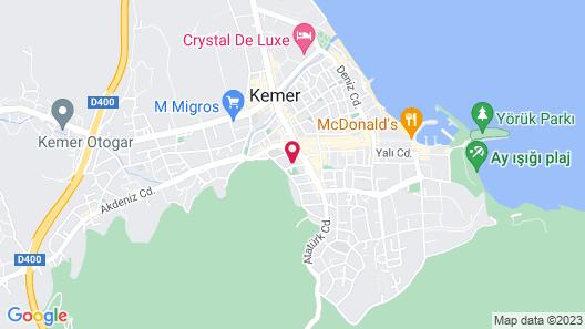 Caner Hotel Map