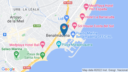 Hotel Palmasol Map