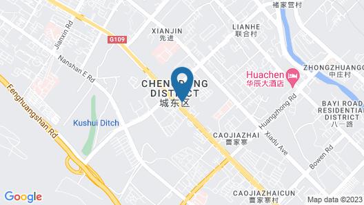Atour Hotel Xining East Kunlun Road Map