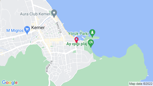 Day&Night Connected Imperial Turkiz Resort Hotel Map