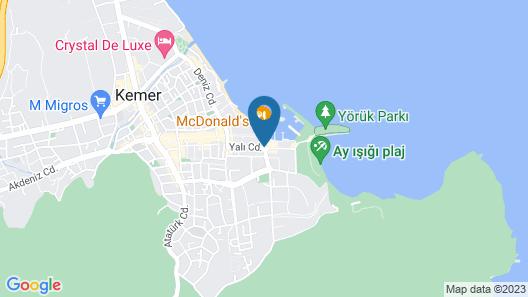 Kemer Hotel - All Inclusive Map