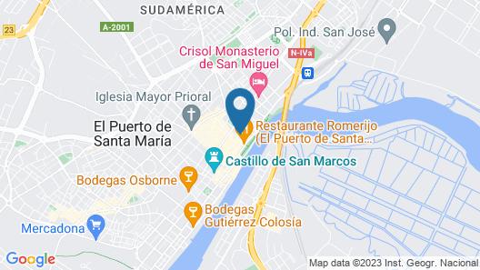 Los Cantaros Map