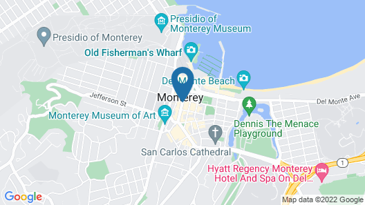 The Monterey Hotel Map