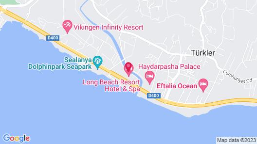 Long Beach Resort & Spa - All Inclusive Map