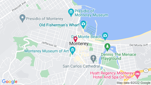 Merritt House Hotel Map