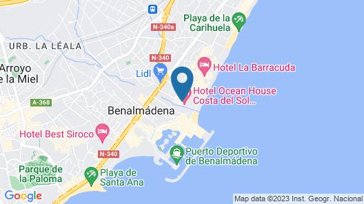 Sol House Costa del Sol Map