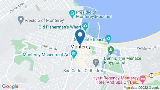 Monterey Marriott Map