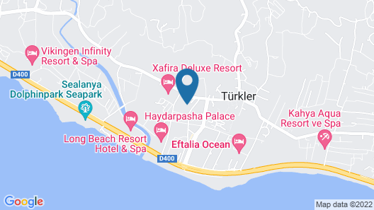 Eftalia Splash Resort Map