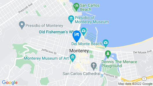 Hotel Pacific Map