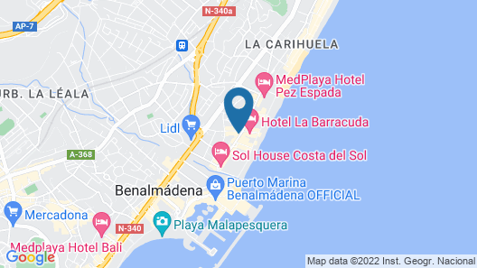 Carihuela Suites Map
