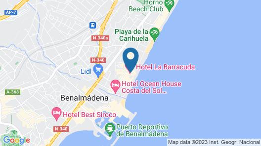 La Barracuda Map