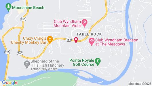 Pointe Royale Condominium Resort & Golf Course Map