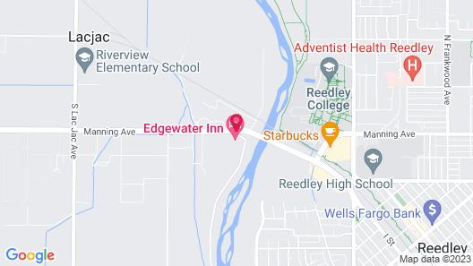 Edgewater Inn Reedley Map