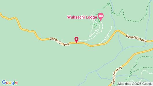 Wuksachi Lodge Map