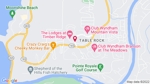 Welk Resorts Branson Hotel Map