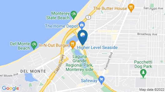 Embassy Suites Monterey Bay Map