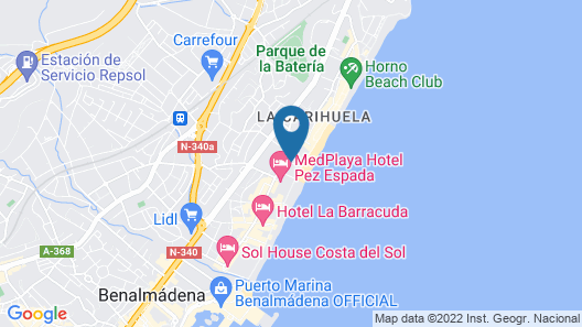 Hotel MS Tropicana Map