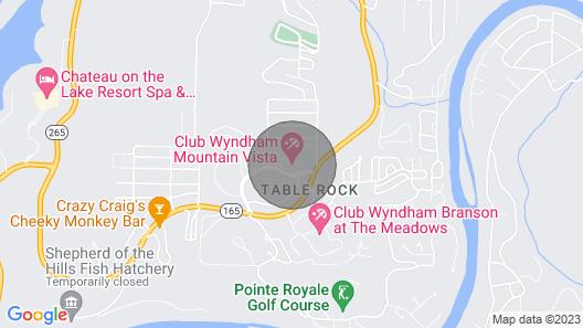 Wyndham Mountain Vista 141 Map