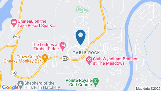 Club Wyndham Mountain Vista Map