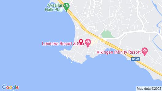 Lonicera Resort & Spa Hotel Map