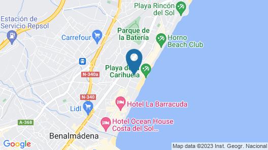 Hotel MS Amaragua  Map