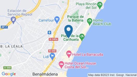 Hotel Arcos de Montemar Map