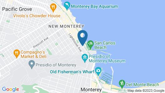 Cannery Row Inn  Map