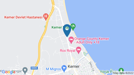 Doubletree by Hilton Antalya-Kemer Map