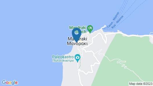 Nisyros Amallos House Map
