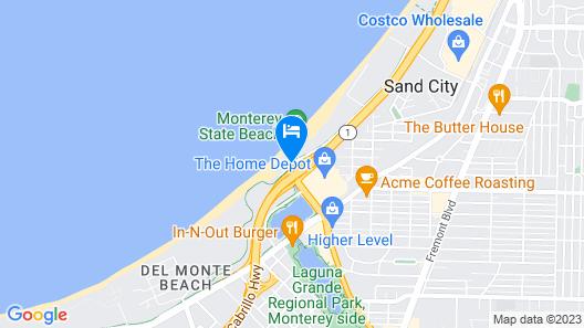 Monterey Tides Map