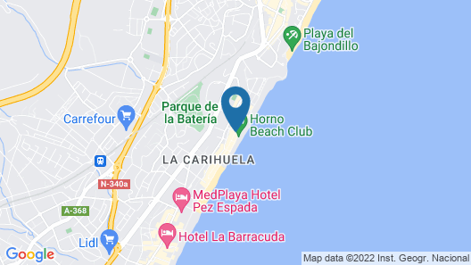 Carihuela Beach Apartments Map