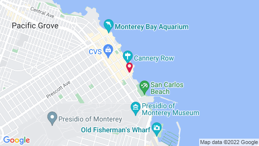 Monterey Plaza Hotel & Spa Map