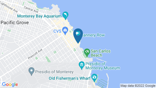 Monterey Plaza Hotel & Spa Map