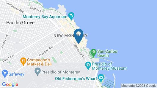 Best Western Plus Victorian Inn Map