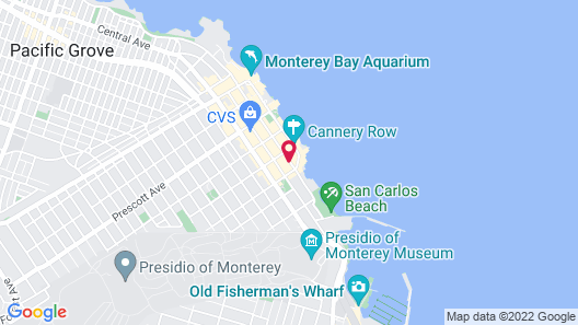 Holiday Inn Express Monterey-Cannery Row, an IHG Hotel Map
