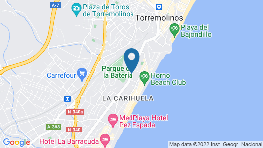 Hotel Princesa Solar - Adults Recommended Map