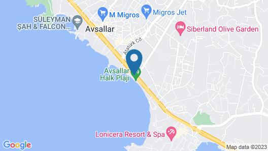 Aska Just In Beach – All Inclusive Map