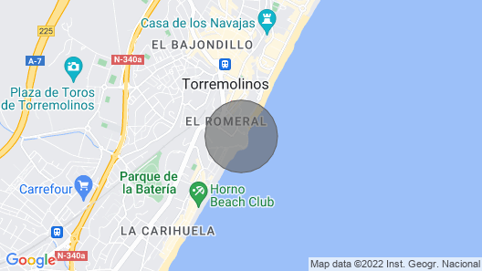 Torremolinos Apartment, Sleeps 4 With Pool and Air Con Map