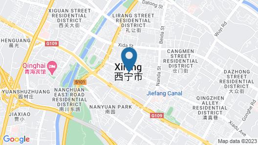 Holiday Inn Xining Hot-Spring, an IHG Hotel Map