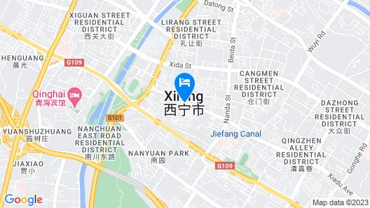 Holiday Inn Express Xining Railway Station, an IHG Hotel Map