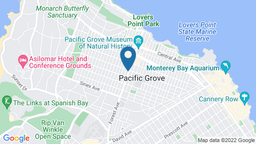 Pacific Grove Inn Map