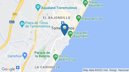 Hotel Ritual Torremolinos - Adults only Map