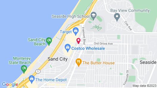 Seaside Inn Map