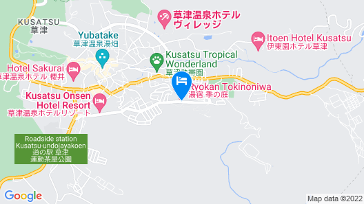 Yuyado Tokinoniwa Map